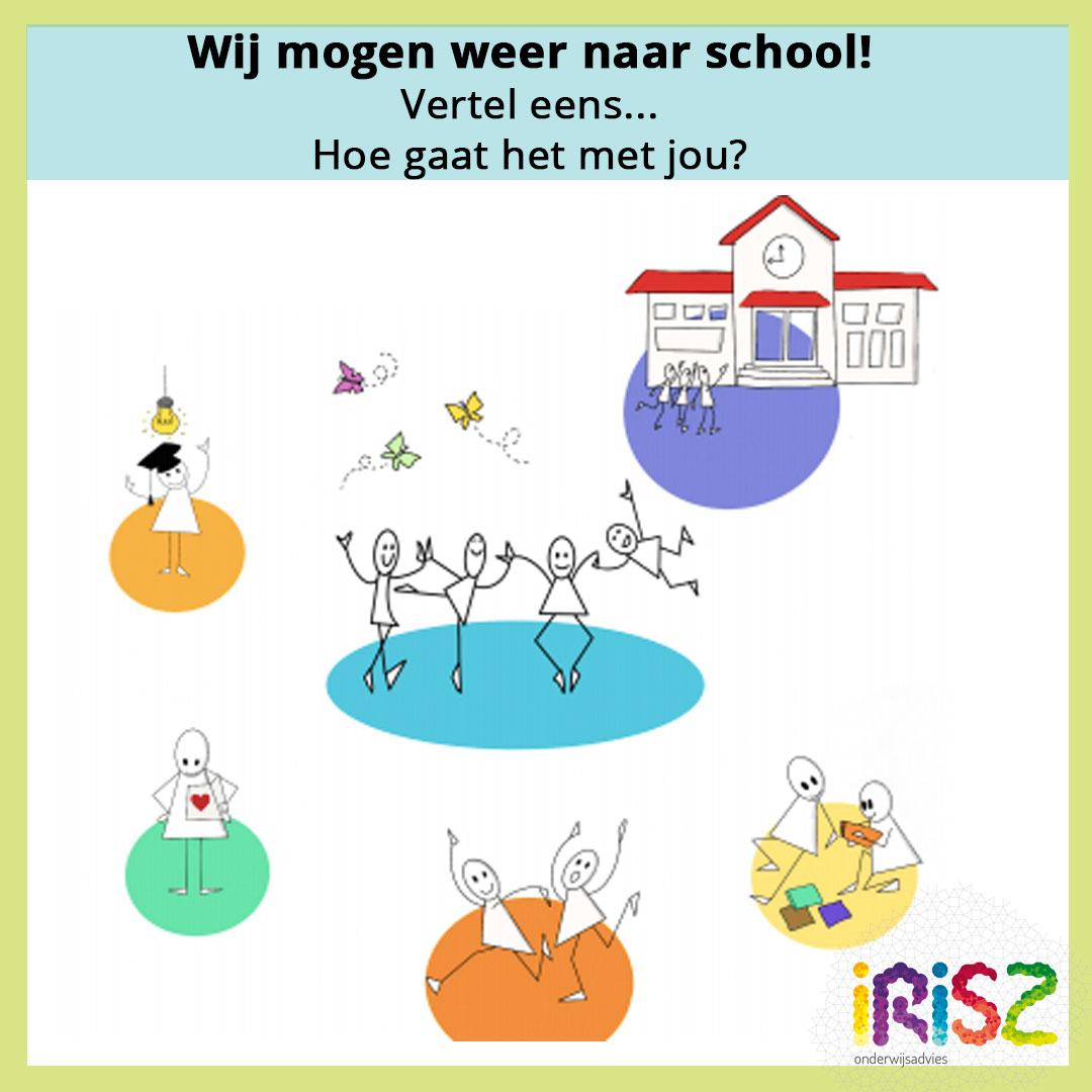 Praatkaart Irisz Onderwijsadvies